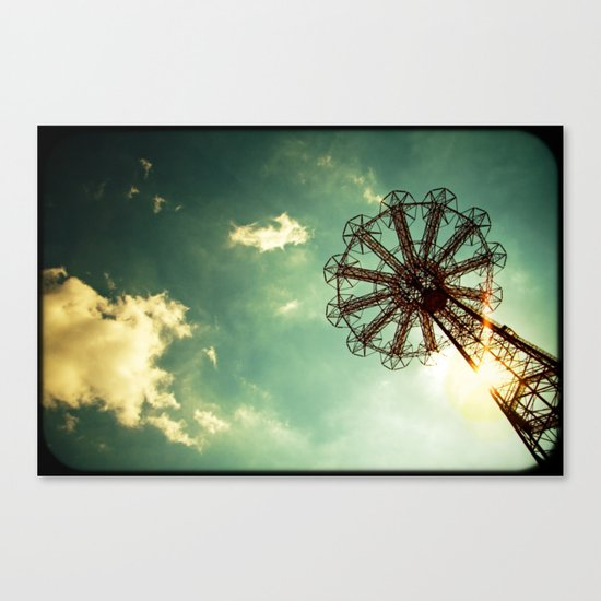Catch The Wind Canvas Print