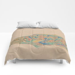 Colorful Fish Comforters