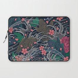 Blossom Blizzard Laptop Sleeve