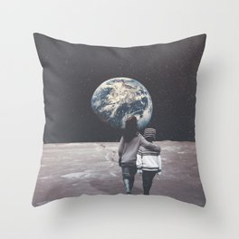 Back to Hometown Throw Pillow