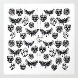 The darker side Art Print