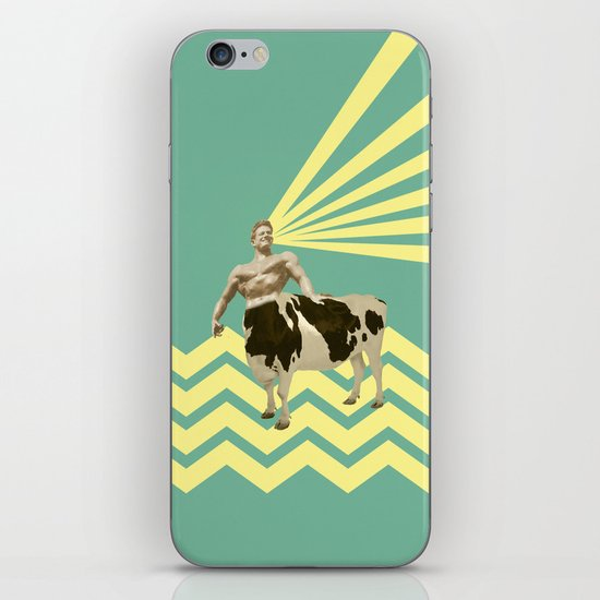 The real muscular cow-boy  iPhone & iPod Skin