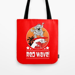 Republican Elephant Red Wave Midterm Vote 2018 Tote Bag