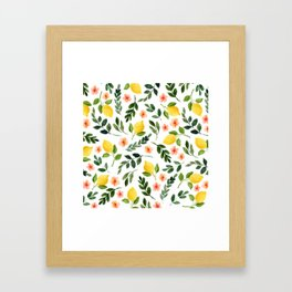 Lemon Grove Framed Art Print