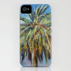 Canary Island Date Palm Slim Case iPhone (4, 4s)