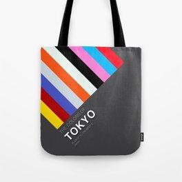 Colors of Tokyo Tote Bag