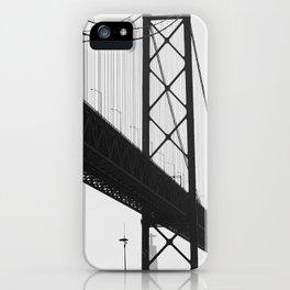PORTUGAL ... Lisbon - Ponte 25 de Abril I iPhone Case