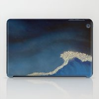 the last unicorn iPad Cases featuring The Last Unicorn : Last Wave  by Christopher Chouinard