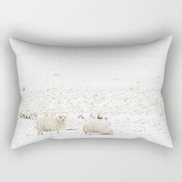 Icelandic Sheep II Rectangular Pillow