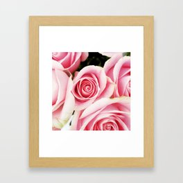 Pink Roses by J.Avery Design Framed Art Print