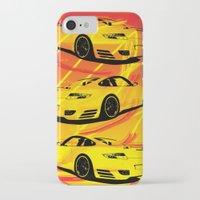 porsche iPhone & iPod Cases featuring Porsche  by deadfish