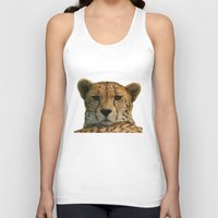 cheetah Tank Tops featuring Cheetah by Sean Foreman