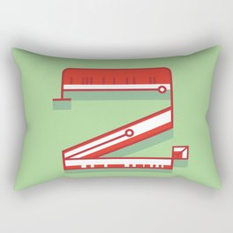Alphabet Drop Cap Series- 2 Rectangular Pillow