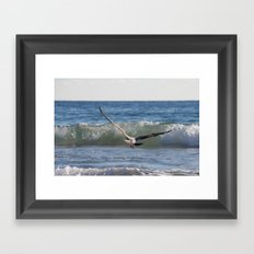 Fly Away Gull 6950 Framed Art Print