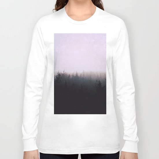 I want to be wherever you are Long Sleeve T-shirt