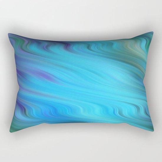 Down Stream Rectangular Pillow
