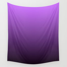 Violet Gradient Wall Tapestry