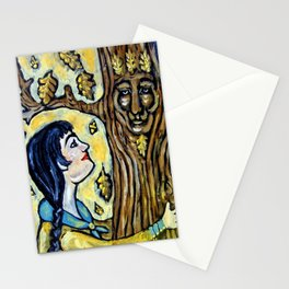 Mighty Oak * Nature Maidens Stationery Cards