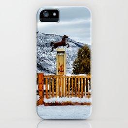 Glenwood Springs Park iPhone Case