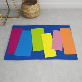 Contending with Colors. Rug