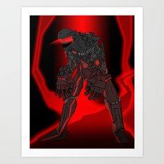 ULTRACRASH 4 Art Print
