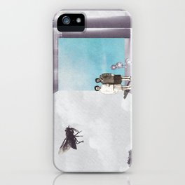 La mouche iPhone Case