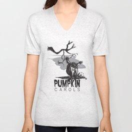 Pumpkin Carols Unisex V-Neck