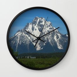 Beautiful Grand Teton NP Wall Clock
