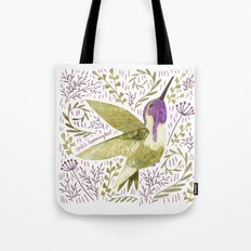 Costa's Hummingbird Tote Bag