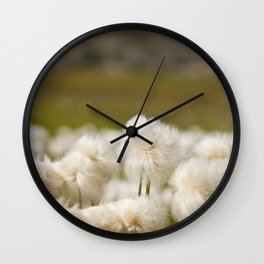 Dandelion Minimalist, Poster Dandelion, Wall Art, Flower, Art soft Floral Print Wall Clock