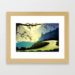 Alum Rock Canyon Framed Art Print