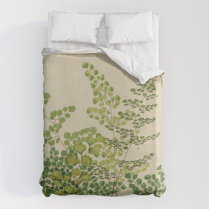 Maidenhair Ferns Bettbezug