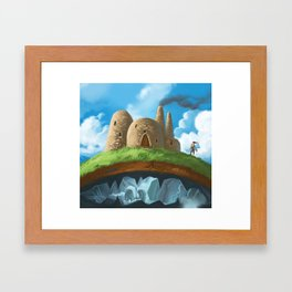 Above or Below Framed Art Print