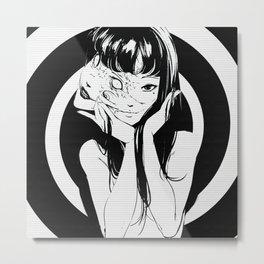 Tomie Kawakami - Junji Ito Metal Print