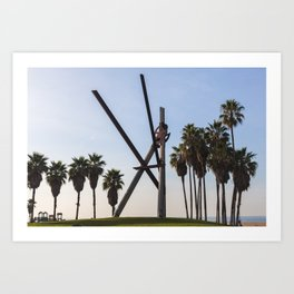 Venice Beach IV Art Print