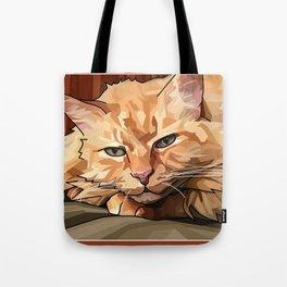 Louie Cat Tote Bag