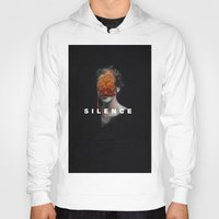 silence of the lambs Hoodies featuring Silence by Frank Moth