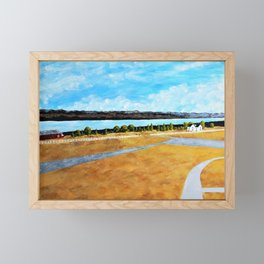 Seneca Lake by Mike Kraus Framed Mini Art Print