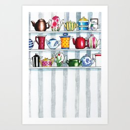 It's Always Tea Time Art Print