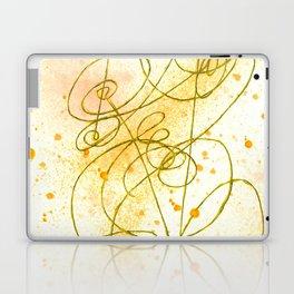 Golden Dream Laptop & iPad Skin