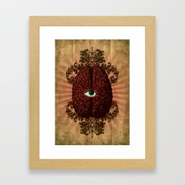 What Color is Your Mind? Framed Art Print
