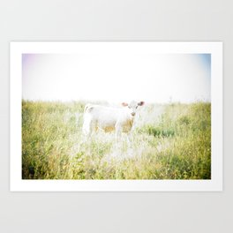 Not a lamb Art Print