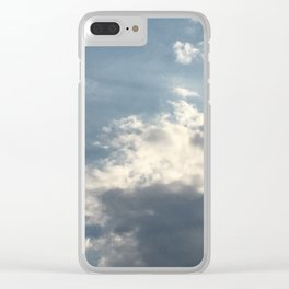 Carolina Sky Clear iPhone Case