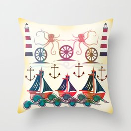 Sailor Throw Pillow