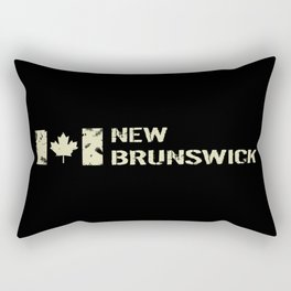 Canadian Flag: New Brunswick Rectangular Pillow