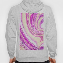 Marble pink and gold Hoody