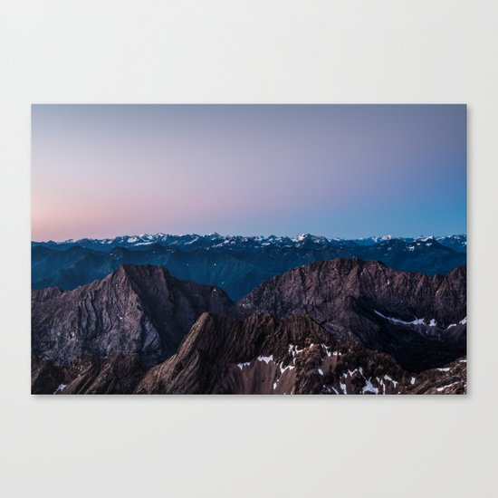 Taking the Long Way Around Canvas Print