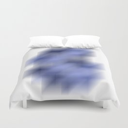 Cool Cube Abstract Illustration Watercolor Digital Artwork Duvet Cover