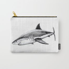 Great white shark (Carcharodon carcharias) Carry-All Pouch