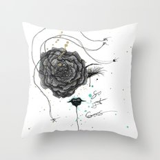 And So It Went Throw Pillow